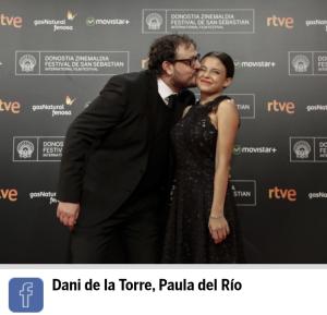 Pelicula el desconocido con Paula del Rio