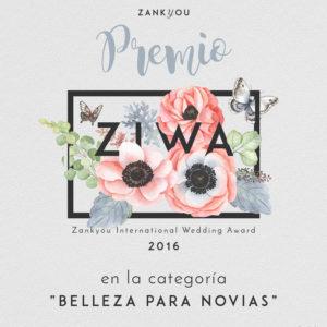 Premios ZIWA 2016 Novias